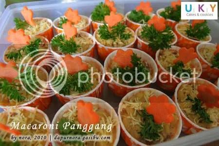 macaroni panggang cup bandung