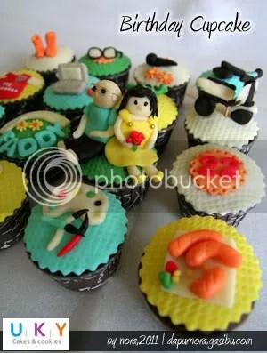 cupcake birthday bandung