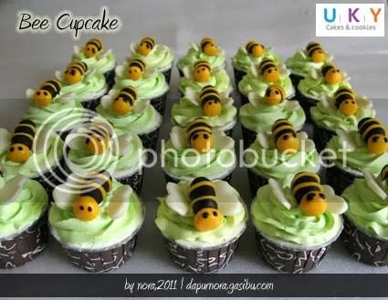 cupcake bee lebah bandung