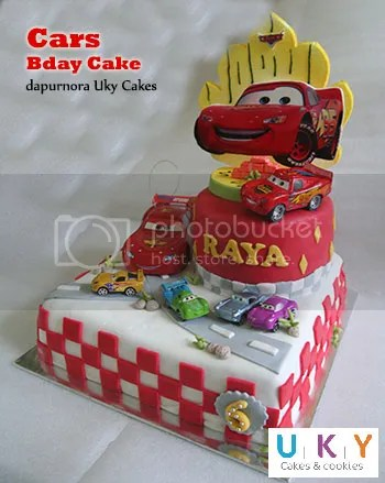 Kue ulang tahun mc queen cars bandung