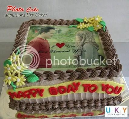 photo cake bandung
