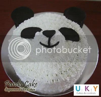 Cake panda bandung