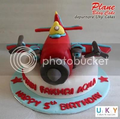 Plane birthday cake bandung