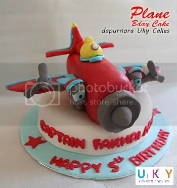 kue ulang tahun pesawat bandung