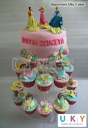 cupcake tower ulang tahun anak bandung