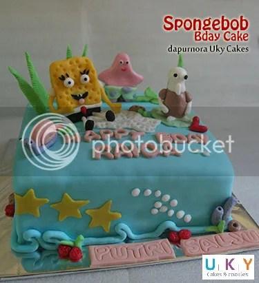 kue ulang tahun spongbob bandung