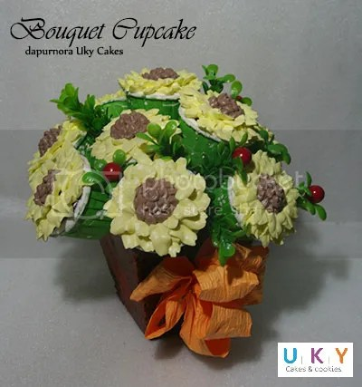 bouquet Cupcake bandung