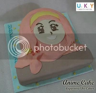 anime cake bandung