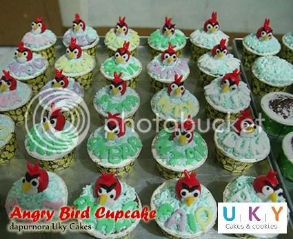 cupcake angry bird bandung