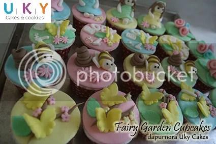 Cupcake fairy garden bandung