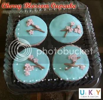 cupcake cerry blossom bandung