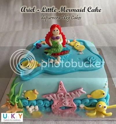 little mermaid cake bandung