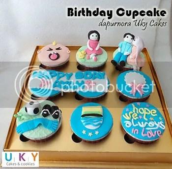 cupcake ulang tahun ayah