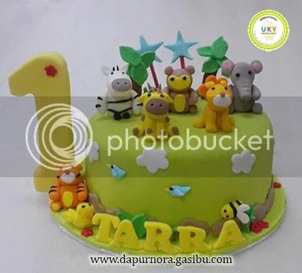 zoo birthday cake bandung