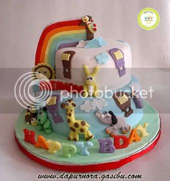kue ulang tahun pertama baby tv bandung