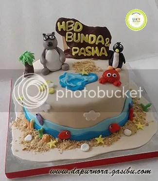 Bernard birthday cake bandung