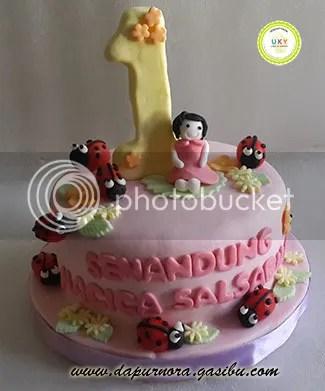 kue ulang tahun lady bugs bandung