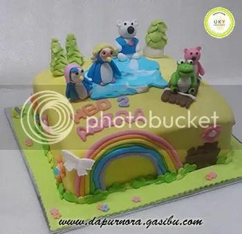 birthday cake pororo bandung