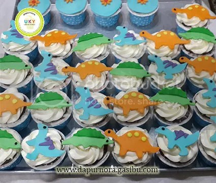 cupcake dinosaurus bandung