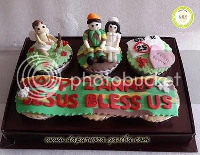 cupcake tentara bandung