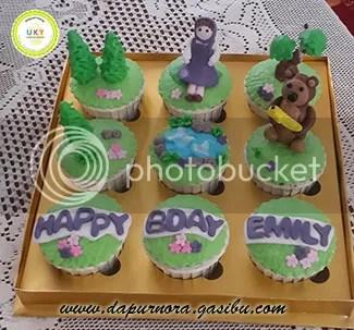 cupcake ulang tahun anak bandung