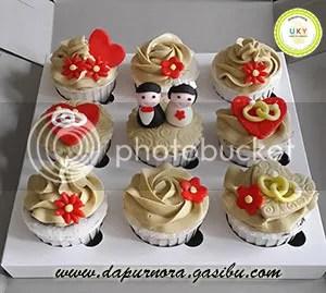 cupcake wedding bandung