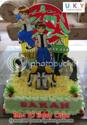 ben10 kue ulang tahun bandung