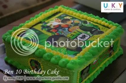 edible image cake ben 10