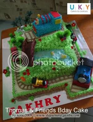 birthday cake thomas