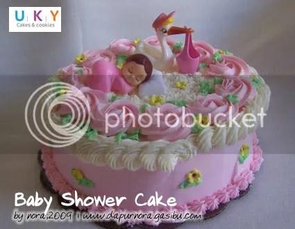 cake kelahiran bayi