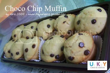 chocochips muffin