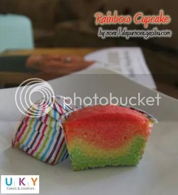 cupcake rainbow bandung