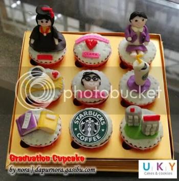 graduation cupcake bandung