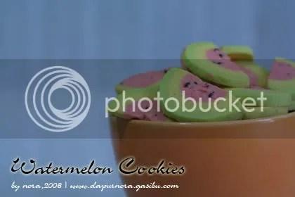 cookies semangka