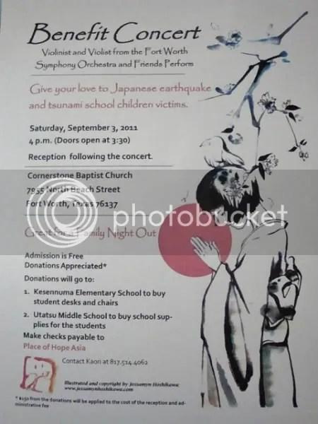 FW benefit concert