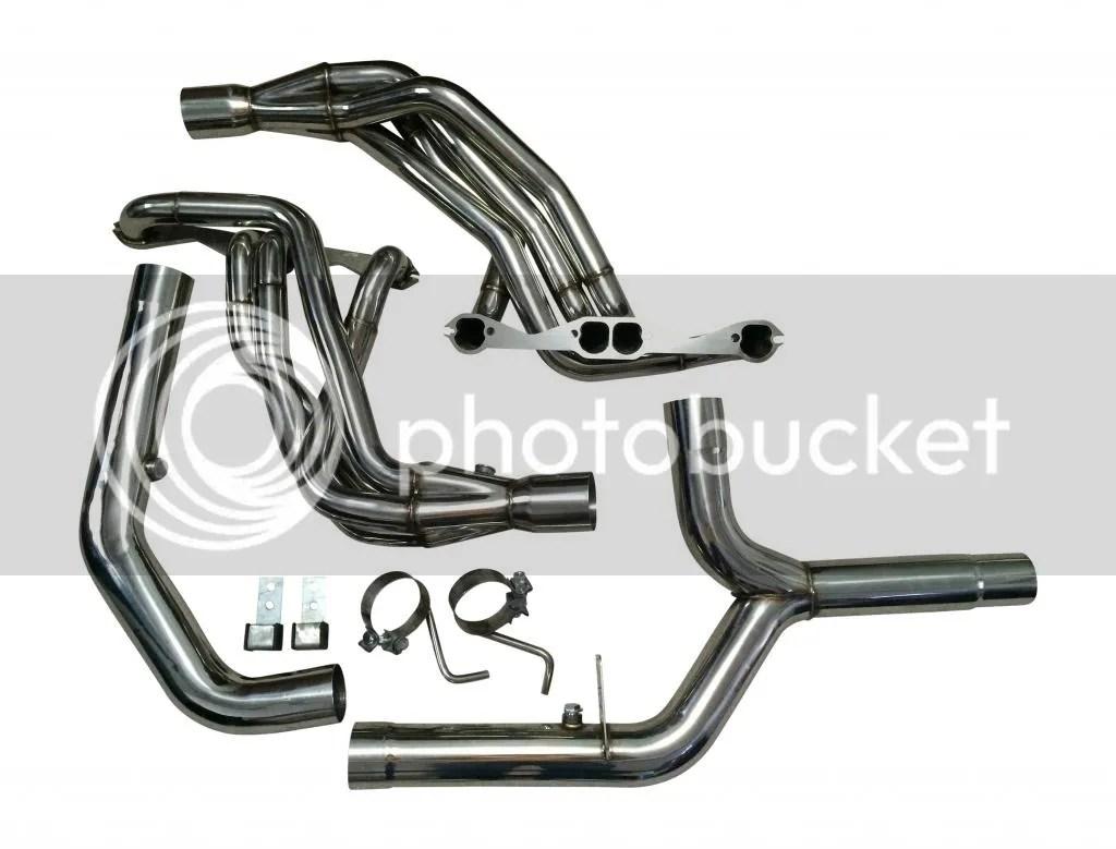 Xs Power Lt1 Longtube Header Systems Available W Mi Fbody