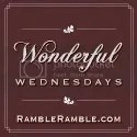 Wonderful Wednesdays at RambleRamble