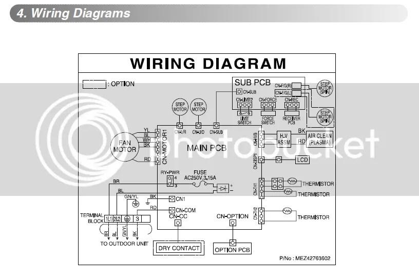 daikin mini split wiring diagram wire center u2022 rh statsrsk co Daikin Installation Manual Daikin Installation Manual