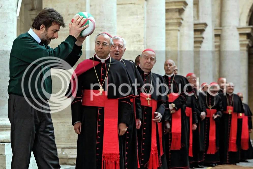 Moretti en el Vaticano