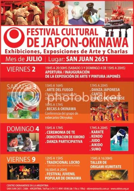 Festival Cultural de Japón y Okinawa