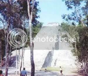 Pyramid at Cobá