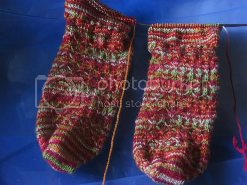 quilted socks