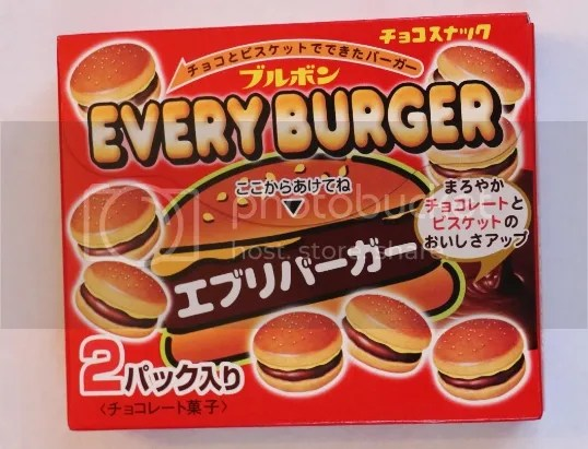 Every Burger. Japanese junk food. Bonsai sesame seeds.