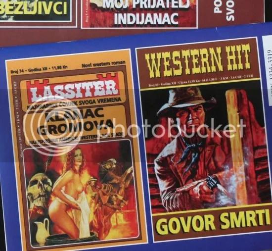 Croatian magazines: back page: Govor Smrti!