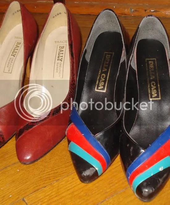 colour shoe