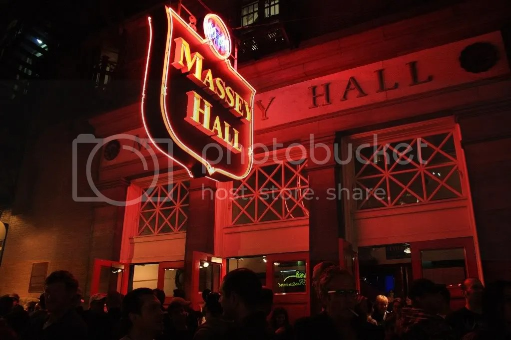 Massey Hall exterior