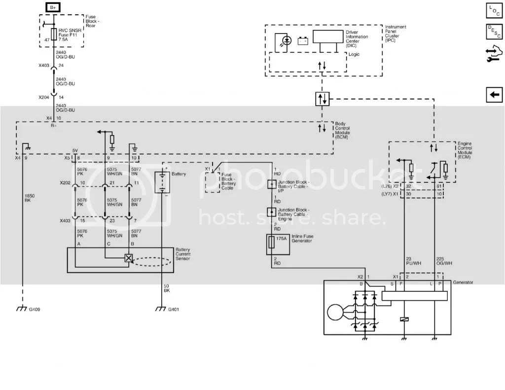 Stock Alternator Wiring Diagram