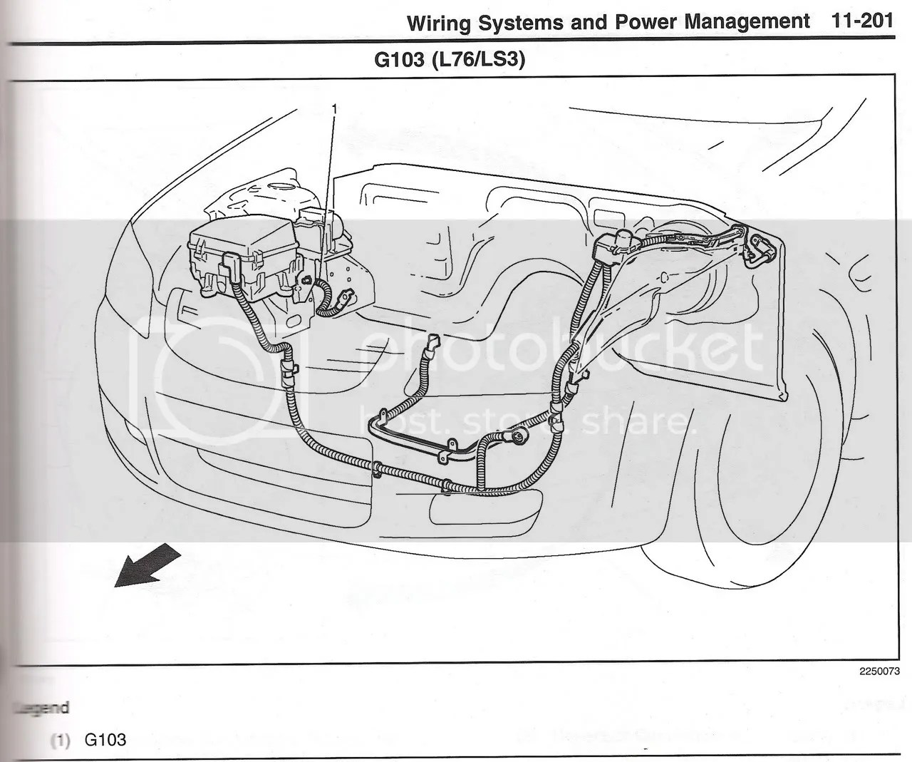 Pontiac G8 Starter Wiring