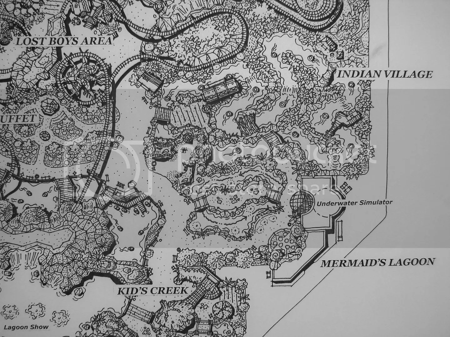 Peter Pans Neverland Was Not Designed To Be As Big Disneyland But It Certainly Would Have Been A Great Theme Park Where All The Living On