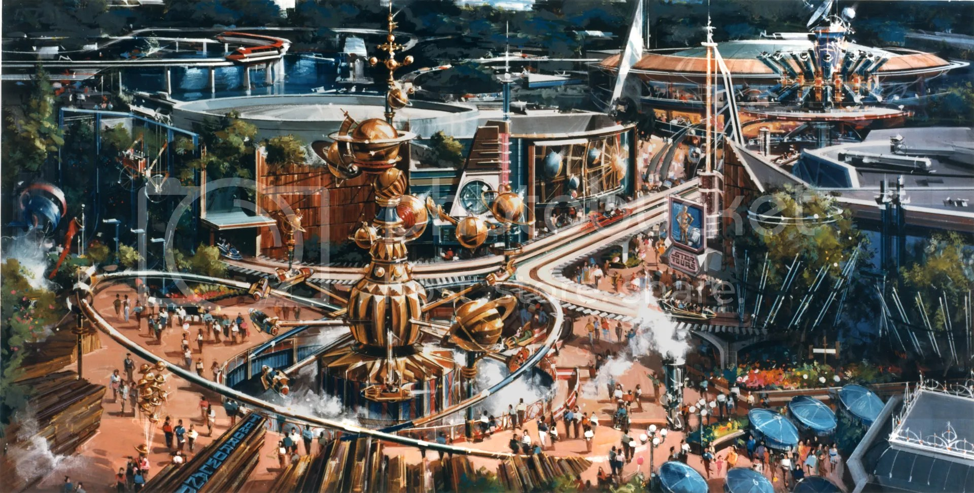 Image result for tomorrowland concept art